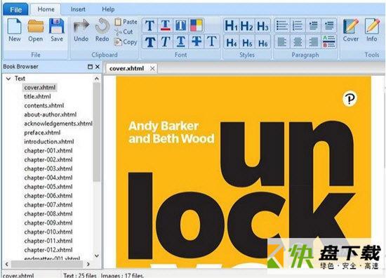 Vibosoft ePub Editor Master电子书编辑工具 v2.1.4 免费版