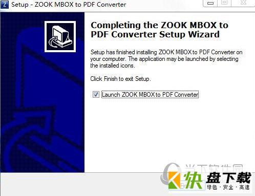ZOOK DBX to PDF Converter 3.0 最新版