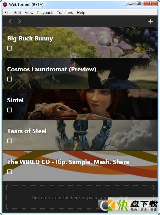 WebTorrent下载