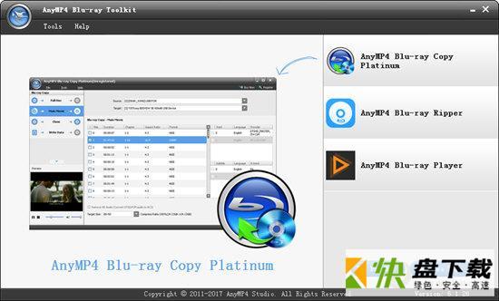AnyMP4 Blu-ray Toolkit下载