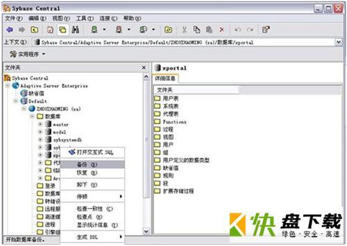 CASE工具集关系型数据库系统 v12.5 汉化破解版