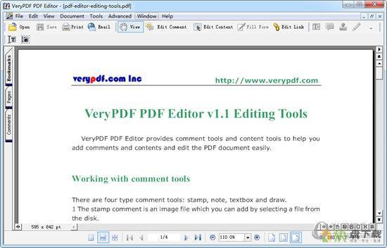 VeryPDF PDF Editor下载