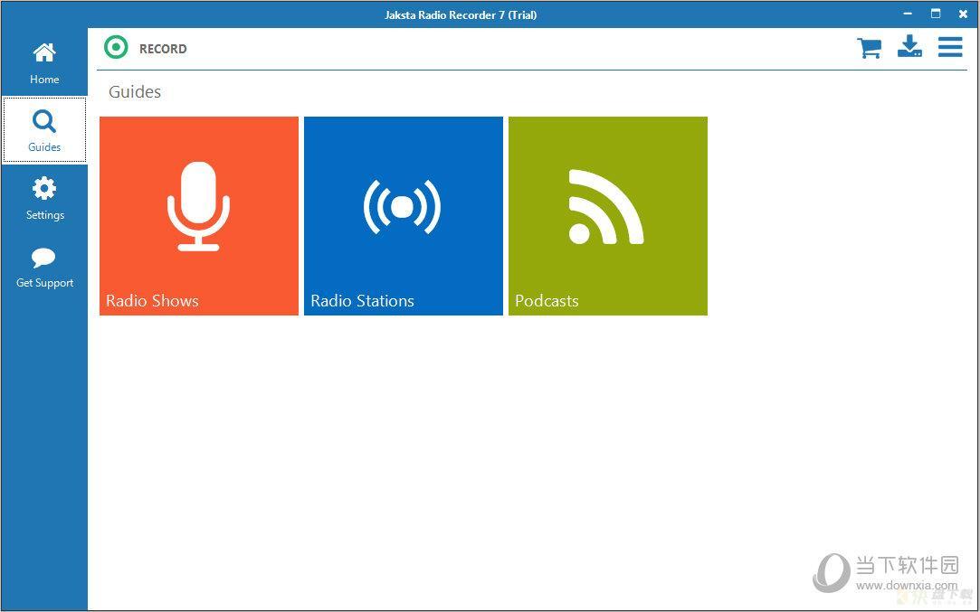 Jaksta Radio Recorder电台收录工具最新版 v7.0.2.4 官方版