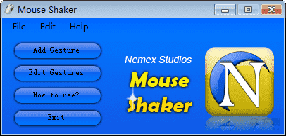 Mouse Shaker鼠标手势软件下载