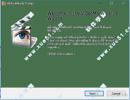 电影短片加入音轨工具videomach破解版 v5.12.0