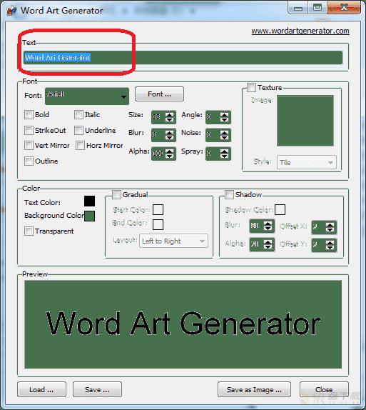 艺术字体生成器下载