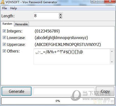 Vov Password Generator下载
