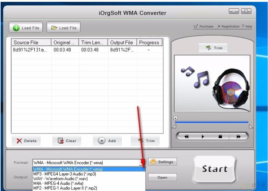 iOrgSoft WMA Converter