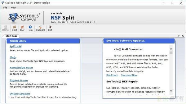 SysTools NSF Split下载