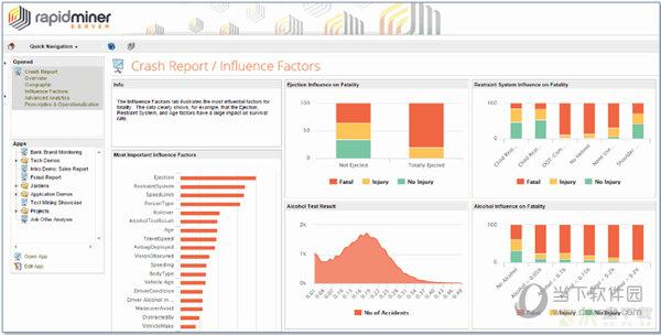 RapidMiner Studio数据挖掘图形工具 v9.4.1免费版