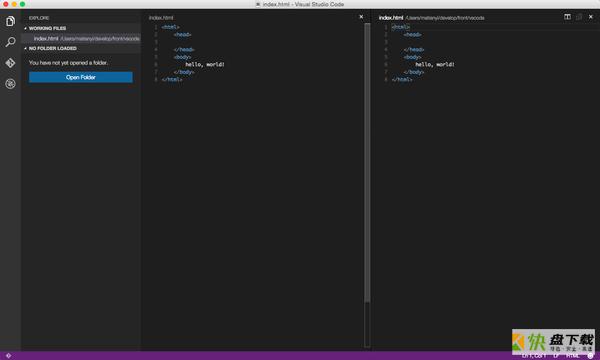 Visual Studio Code中文版